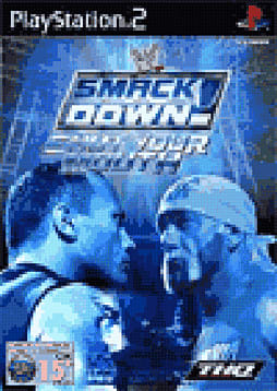 WWE Smackdown! 4 - Shut Your Mouth PlayStation 2 Cover Art