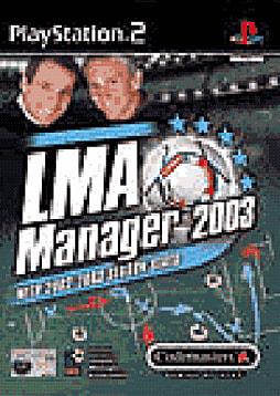 LMA Manager 2003 PlayStation 2