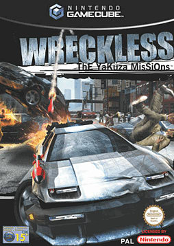 Wreckless The Yakuza Missions GameCube Cover Art