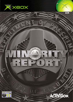 Minority Report Xbox Cover Art
