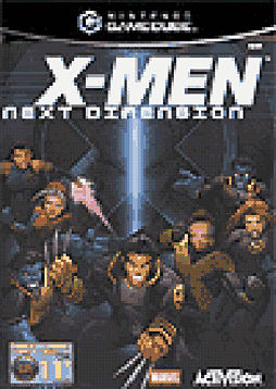 X-Men Next Dimension GameCube Cover Art