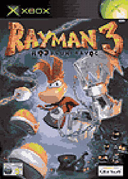 Rayman 3 Hoodlum Havoc Xbox Cover Art