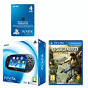PlayStation Vita (Wifi only) with Uncharted: Golden Abyss and 4GB Memory Card