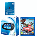 PlayStation Vita (Wifi only) with LittleBigPlanet VITA and 4GB Memory Card