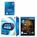 PlayStation Vita (Wifi only) with Soul Sacrifice and 4GB Memory Card