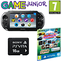 PlayStation Vita Slim with  PS Vita 8GB Sports and Racing MEGA Memory Card Pack