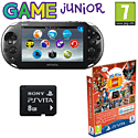 PlayStation Vita Slim with 8GB PS Vita Memory Card LEGO Pack and GAMEware PS Vita Starter Pack