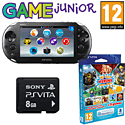PlayStation Vita Slim with 16GB PS Vita Memory Card Sports Pack and GAMEware PS Vita Starter Pack