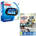 PlayStation Vita (3G) with 16GB PS Vita Memory Card Kids Pack