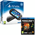 PlayStation Vita Slim With Minecraft