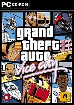 Grand Theft Auto - Vice City PC Games and Downloads Cover Art
