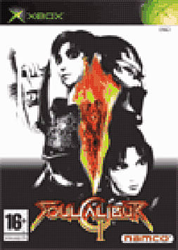 Soul Calibur II Xbox Cover Art