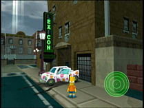 The Simpsons: Hit and Run screen shot 2