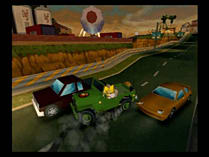 The Simpsons: Hit and Run screen shot 7