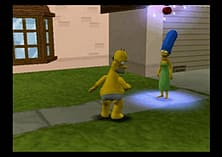 The Simpsons: Hit and Run screen shot 9