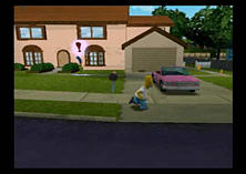 The Simpsons: Hit and Run screen shot 14