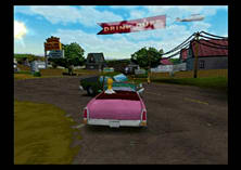 The Simpsons: Hit and Run screen shot 16