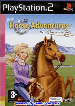 Barbie Horse Adventure Wild Horse Rescue PlayStation 2 Cover Art