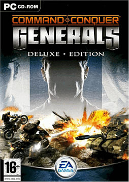 Command & Conquer Generals Deluxe Edition PC Games and Downloads Cover Art