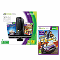 Xbox 360 4GB with Kinect, Kinect Disneyland, Kinect Adventures and Joyride