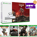 Xbox One S Halo Wars 2 (1TB) with Rare Replay, Forza 5, Ryse: Son of Rome, Sunset Ovrdrive and Now TV 2 Month Cinema Pass