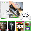 Xbox One S Forza Horizon 3 Bundle (500GB) with 3 Games, Now TV 2 Month Cinema Pass and White Xbox One Controller