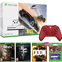Xbox One S Forza Horizon 3 Bundle (500GB) with 3 Games, Now TV 2 Month Cinema Pass and Red Xbox One Controller