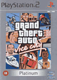 Grand Theft Auto Vice City Platinum PlayStation 2