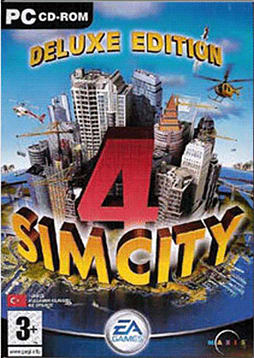 Sim City 4 Deluxe PC Games and Downloads Cover Art