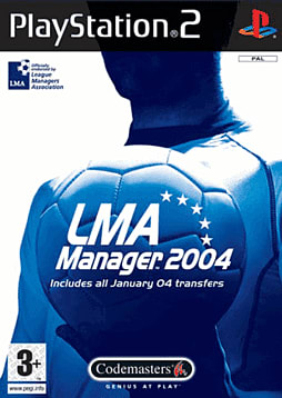 LMA Manager 2004 PlayStation 2