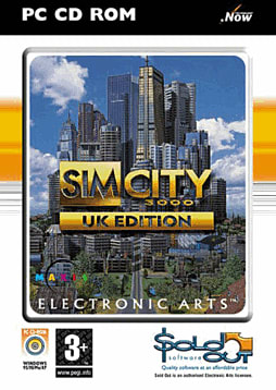 Sim City 3000 - UK Edition - Sold Out Range PC Games and Downloads Cover Art
