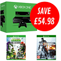 Xbox One with Battlefield 4 and Plants vs Zombies: Garden Warfare