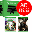 Xbox One with Ryse: Son of Rome and Plants vs Zombies: Garden Warfare