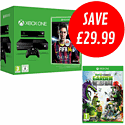 Xbox One with FIFA 14 and Plants vs Zombies: Garden Warfare