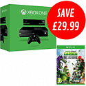 Xbox One with Plants vs Zombies: Garden Warfare