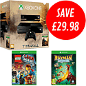 Xbox One with Titanfall, The LEGO Movie Videogame and Rayman Legends