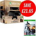 Xbox One with Titanfall and Battlefield 4