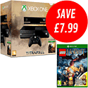 Xbox One with Titanfall and Lego The Hobbit Videogame with Bilbo Baggins minifig