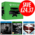 Xbox One with Kinect, Call of Duty: Ghosts, Man of Steel and The Conjuring Blu-Rays