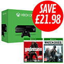 Xbox One with Watch Dogs Special Edition and Wolfenstein Occupied Edition - Only at GAME