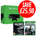Xbox One with Watch Dogs Special Edition and Call of Duty: Ghosts