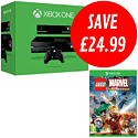 Xbox One with Kinect and LEGO Marvel Super Heroes Super Pack Edition