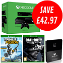 Xbox One with Kinect, Trails Fusion, Call of Duty: Ghosts and Xbox Live 12 Month Day One Edition Gold Membership
