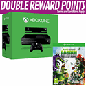 Xbox One With Kinect and Plants Vs. Zombies: Garden Warfare