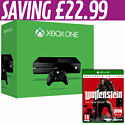Xbox One with Wolfenstein The New Order