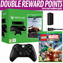 Xbox One with Kinect, Forza 5 Download, LEGO Marvel Super Pack Edition, Additional Controller and Play & Charge Kit