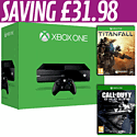 Xbox One with Call of Duty: Ghosts and Titanfall