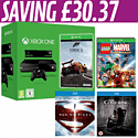 Xbox One with Kinect, Forza 5 Download, LEGO Marvel Super Heroes, Man of Steel and The Conjuring