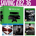 Xbox One with Kinect, Forza 5 Day One, Call of Duty: Ghosts, Man of Steel and The Conjuring Blu-Rays