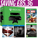 Xbox One with Kinect, Forza 5 Day One, LEGO Marvel Super Heroes, Man of Steel and The Conjuring Blu-Rays